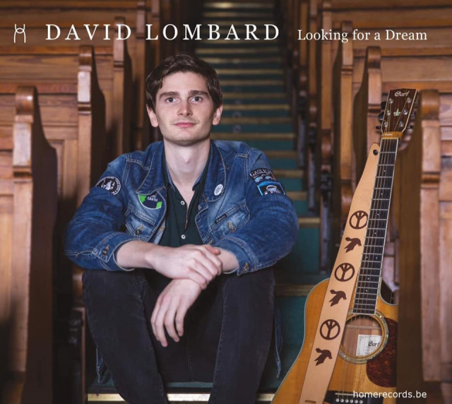 Looking for a dream, le 1er album de David Lombard