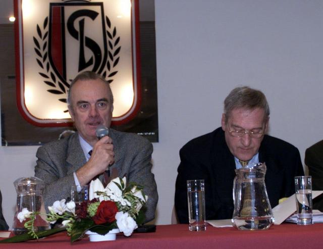 Lucien Levaux, figure liégeoise du football, est décédé
