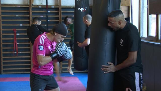 Madani Rahmani, champion du monde de kick-boxing, ouvre son école de boxe à Flémalle