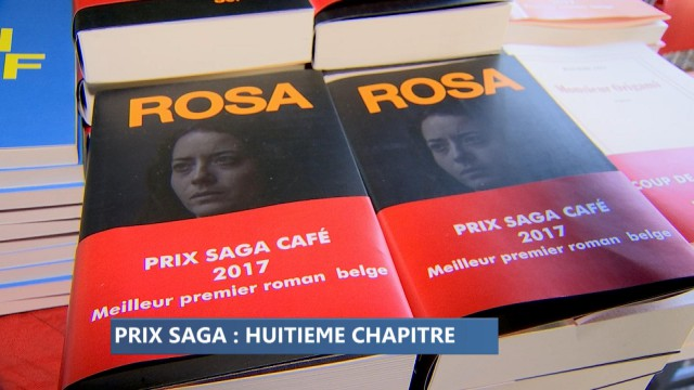 Marcel Sel lauréat du Prix Saga, celui du premier roman belge