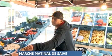 Depuis un mois, un marché couvert hebdomadaire à Saive
