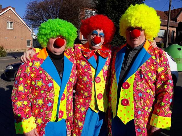 Mardi Gras au carnaval de Houtain Saint-Siméon