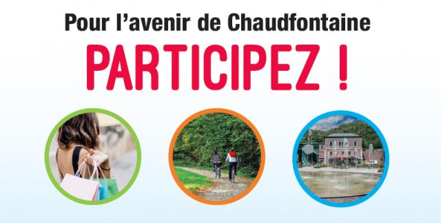Masterplan : Chaudfontaine fait appel à ses habitants