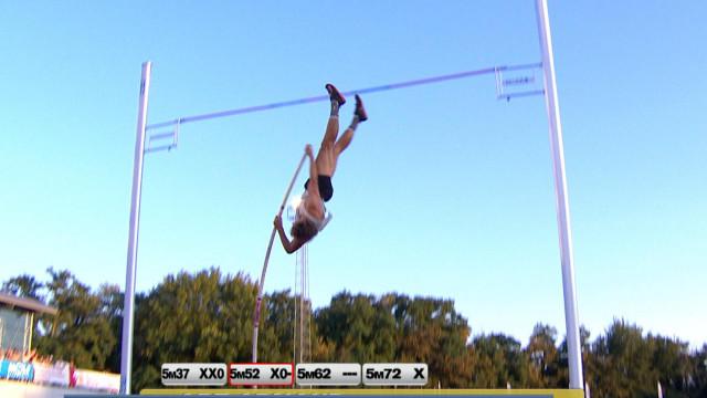 Meeting d'athlétisme Liège: le saut à la perche en tête d'affiche