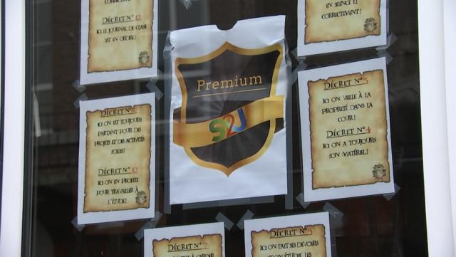 """Un peu de """"Harry Potter"""" dans une école de Liège"""