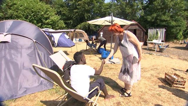 Migrants : La solidarité s'organise à Chaudfontaine !