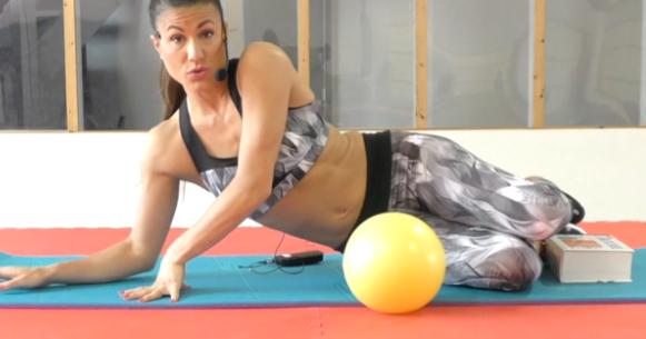 Minutes fitness : le ballon