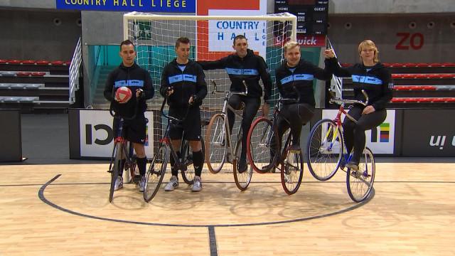 Mondiaux de cyclisme indoor à Liège: les Belges en selle!