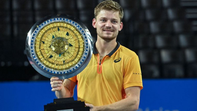 Montpellier : David Goffin remporte l'Open Sud de France
