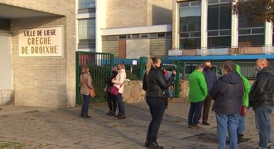 Mouvement de grogne dans les crèches de la Ville de Liège