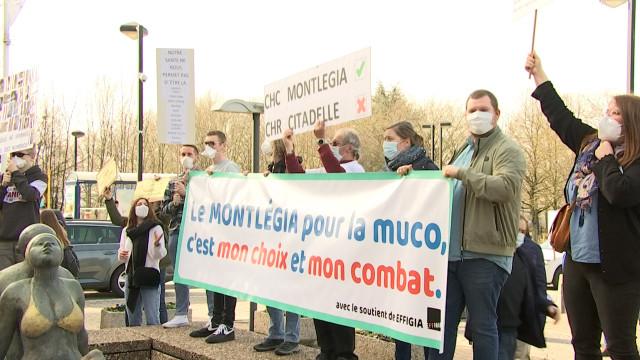 Mucoviscidose : manifestation contre la disparition des soins au CHC