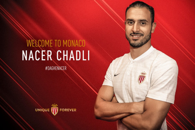 Nacer Chadli pour trois ans à l'AS Monaco
