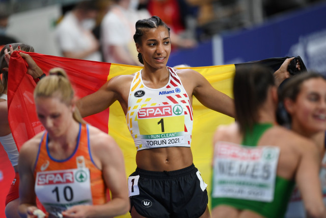 Nafi Thiam, championne d'Europe indoor de pentathlon