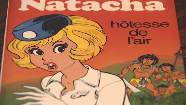 Natacha l'hôtesse de l'air a 50 ans... rencontre avec François Walthéry