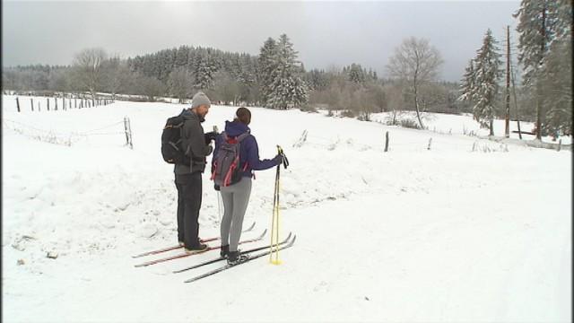 Neige : 40 centimètres dans les Hautes Fagnes, tout bon pour le ski de fond