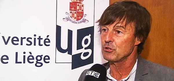 Nicolas Hulot à l'ULG