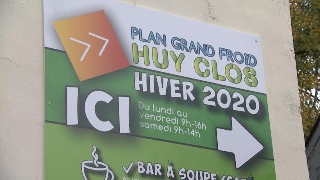Nouveau dispositif pour le Plan Grand Froid de Huy