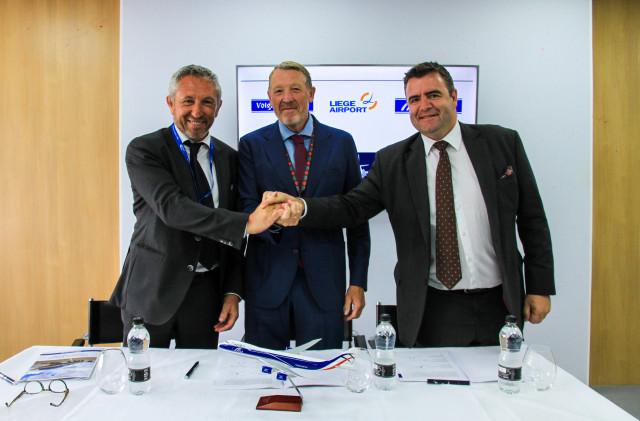 Nouveau partenariat pour Liège Airport, 400 nouveaux emplois en vue