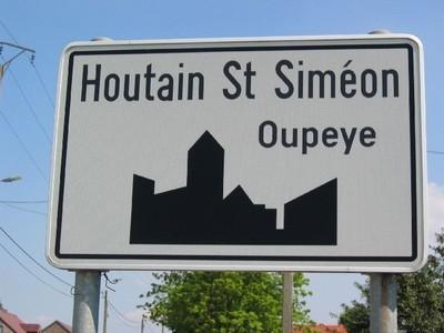 Nouveau quartier d'entreprises à Houtain-Saint-Siméon