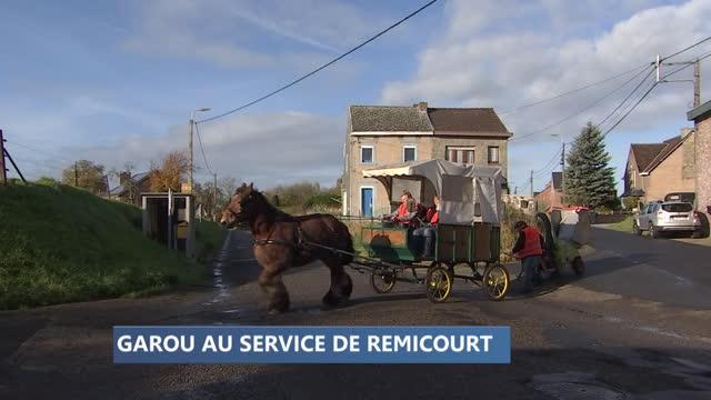 Nouveau service attelé pour la commune de Remicourt