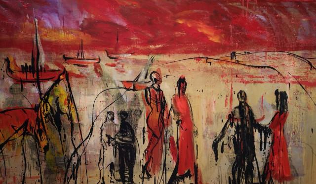 Nouvel Horizon de David Daoud à la galerie Colon