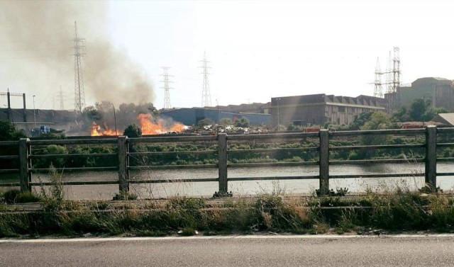 Nouvel incendie chez Renewi