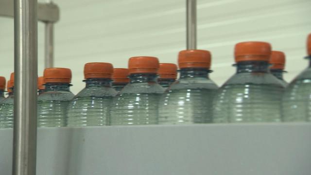 Investissements et bouteilles recyclées chez Chaudfontaine