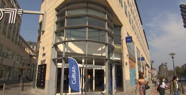 Nouvelle enseigne Cultura au centre de Liège