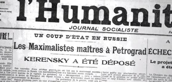 Octobre 1917-Octobre 2017 : la Révolution russe a 100 ans