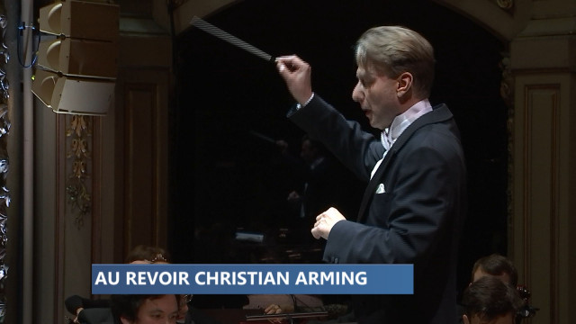 OPRL: Au revoir Christian Arming