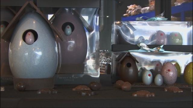 Pâques : LA période pour les chocolatiers