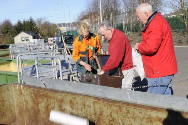 Pas de réouverture des recyparcs mais une aide aux communes
