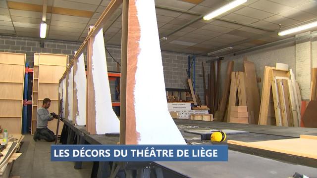 Pas de vacances pour les ateliers décor du Théâtre de Liège  !