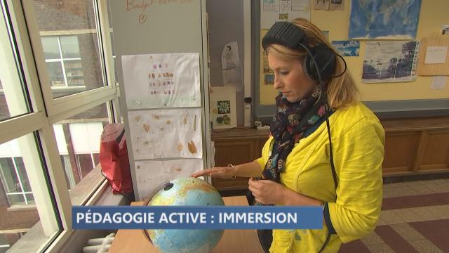 Lycée de Waha : webdocumentaire et immersion en réalité virtuelle