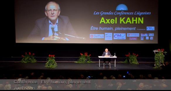 Perspectives : Axel Kahn, être humain pleinement