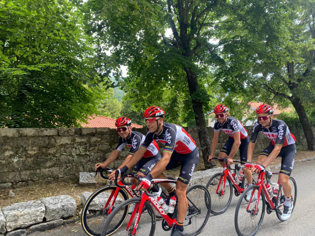 Philippe Gilbert au départ du Tour de France