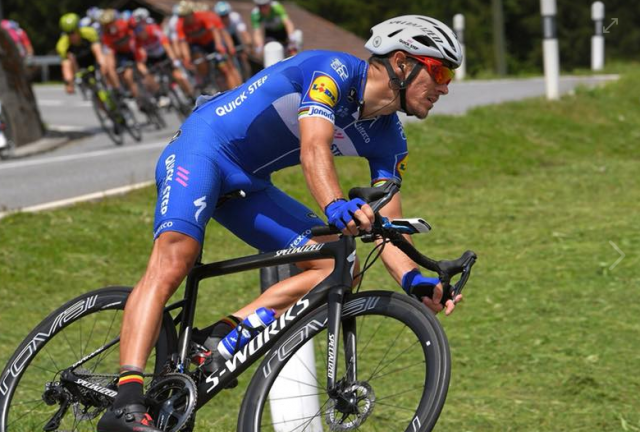 Philippe Gilbert chute au Tour de France