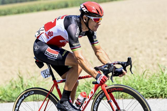 Philippe Gilbert de retour en course le mardi 15 septembre