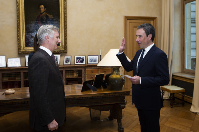 Philippe Goffin devient ministre
