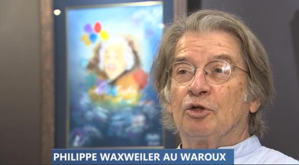 Philippe Waxweiler au château de Waroux