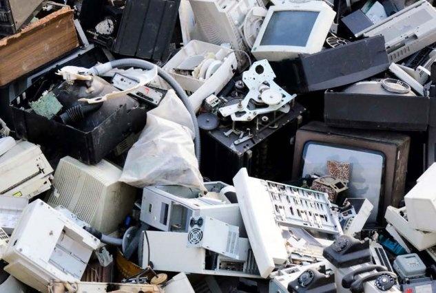 Les Déchets d'équipements électriques et électroniques ne sont plus acceptés au recyparc