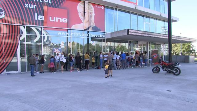 Plusieurs dizaines de candidats au casting The Voice Kids