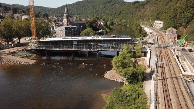 Pont de Tilff : l'avancement des travaux