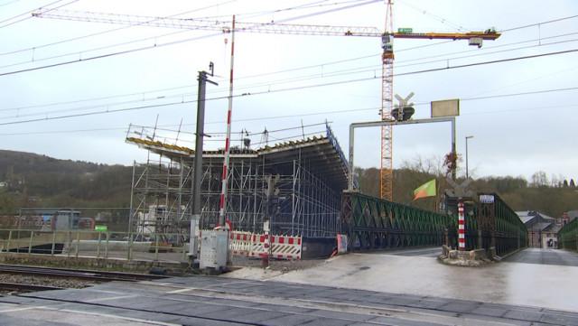 Tilff: Retard sur le chantier du pont