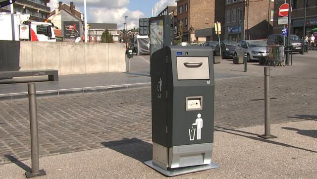 Des poubelles intelligentes et plus écologiques à Herstal