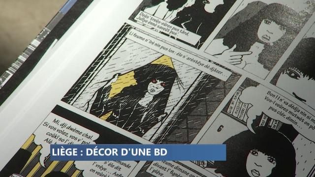 Poupée d'Orgueil, une BD qui se déroule à Liège