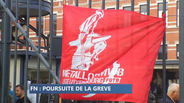 Poursuite de la grève à la FN Herstal