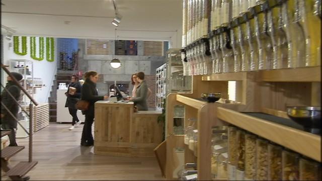 Premier magasin en vrac à Liège