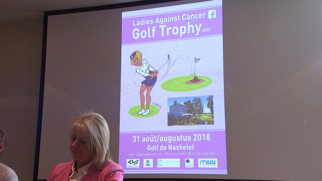 Premier tournoi de golf contre le cancer du sein