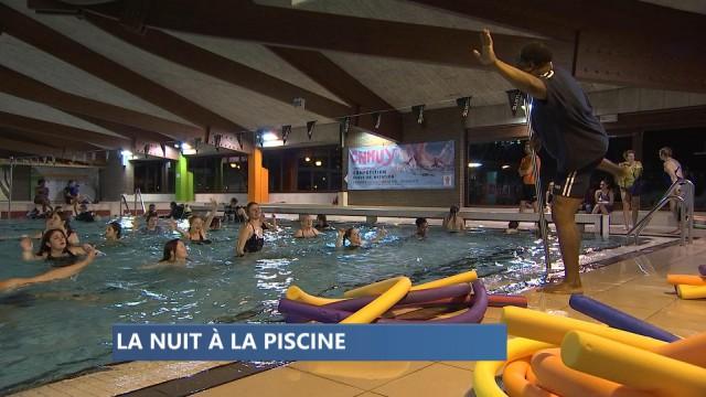 Première Aqua Night à Huy
